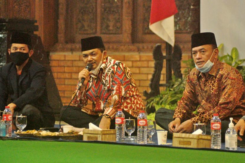 Bupati Semarang, Ngesti Nugraha, menggelar acara