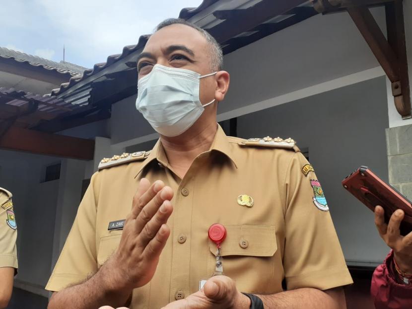 Bupati Tangerang, Ahmed Zaki Iskandar.