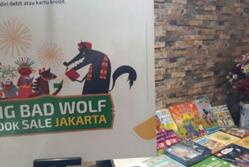 Bursa buku Big Bad Wolf akan kembali digelar di April 2017.