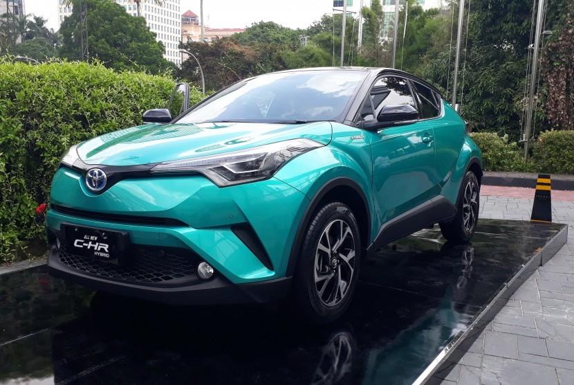 C-HR hybrid yang dipasarkan di Tanah Air