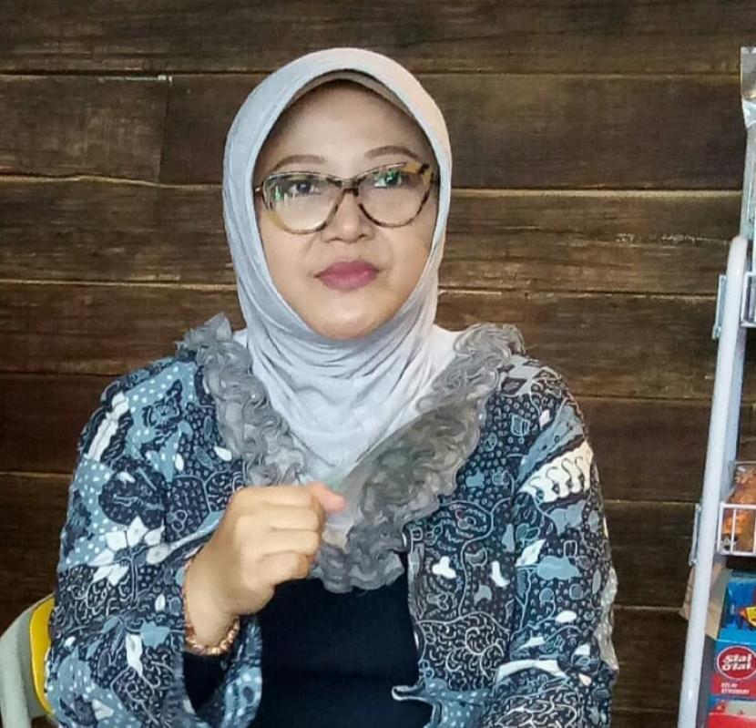 Calon Bupati Bandung nomor urut 1 Kurnia Agustina Naser (Teh Nia)