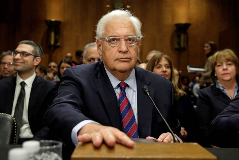Dubes AS untuk Israel, David Friedman.