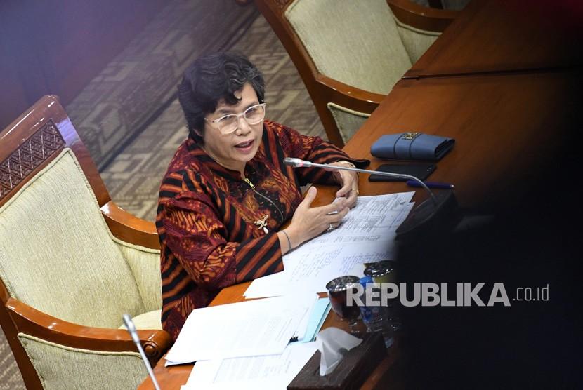 Calon pimpinan KPK Lili Pintauli Siregar menjalani uji kepatutan dan kelayakan di ruang rapat Komisi III DPR, Jakarta, Rabu (11/9/2019).