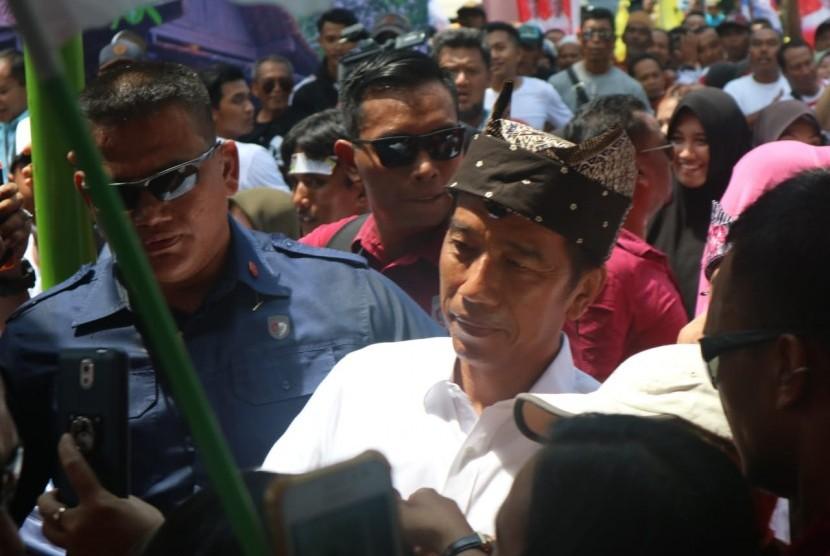 Calon presiden nomor urut (01) Joko Widodo (Jokowi)