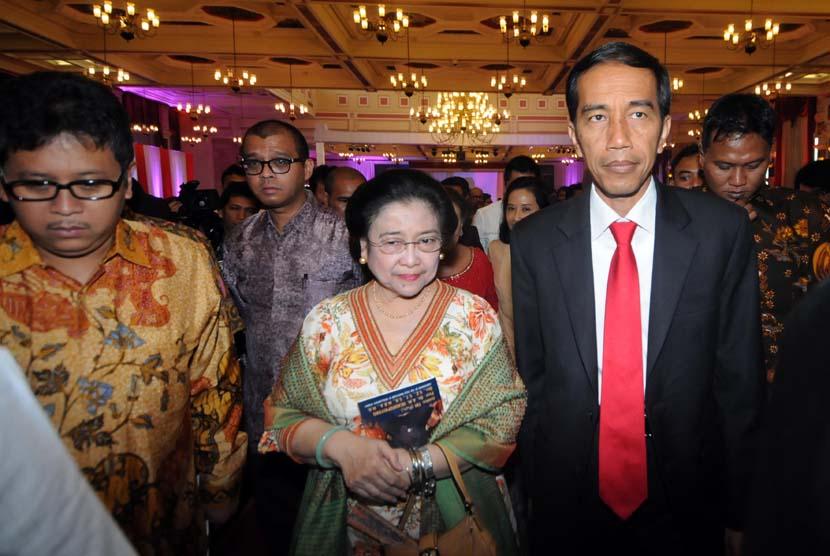 Megawati and Jokowi