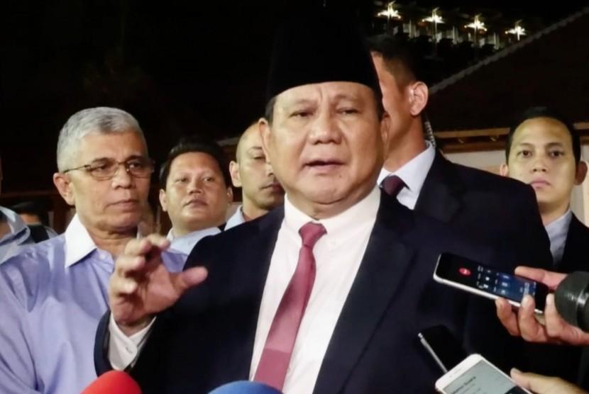 Calon Presiden, Prabowo Subianto