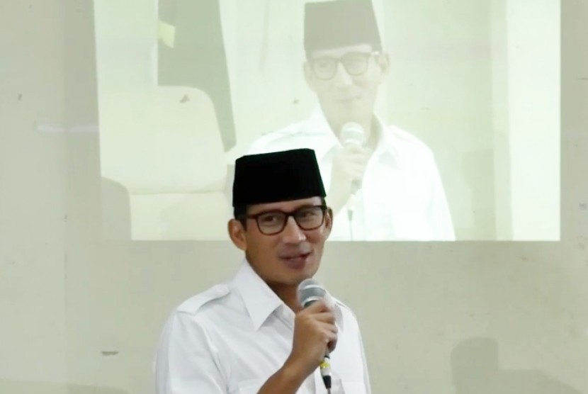 Calon Wakil Gubernur DKI Jakarta Sandiaga Uno