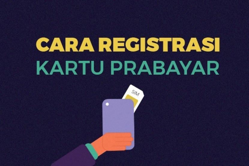 Cara registrasi sim card