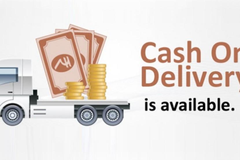 Cash on Delivery. Ilustrasi.