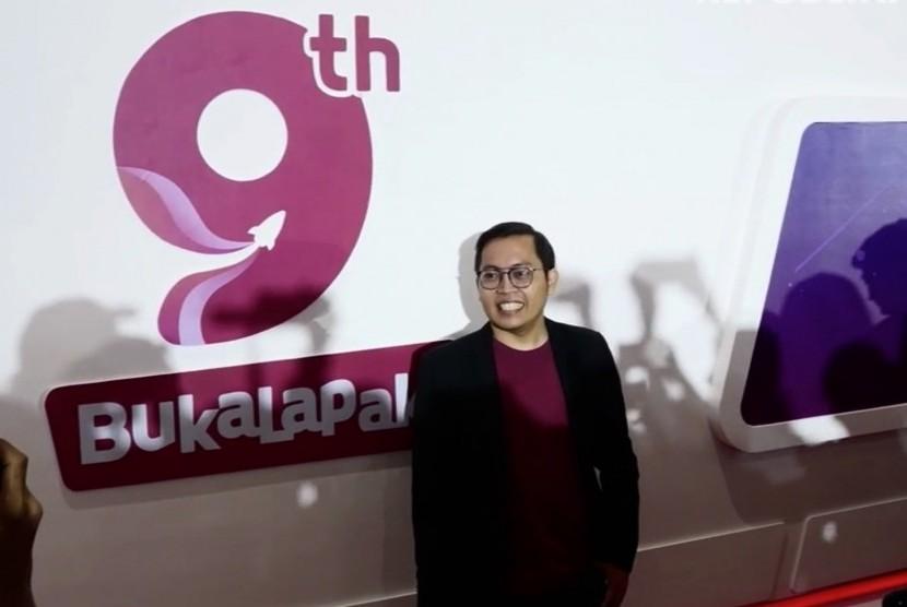 CEO Bukalapak, Achmad Zaky