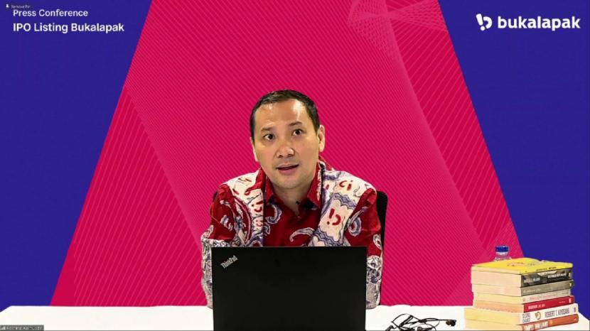CEO Bukalapak, Muhammad Rachmat Kaimuddin, menjelaskan perusahaan akan memastikan kerja perusahaan mengalami pertumbuhan yang positif dan menjanjikan. Kedepan, Bukalapak punya visi untuk mengembangkan UMKM Indonesia.