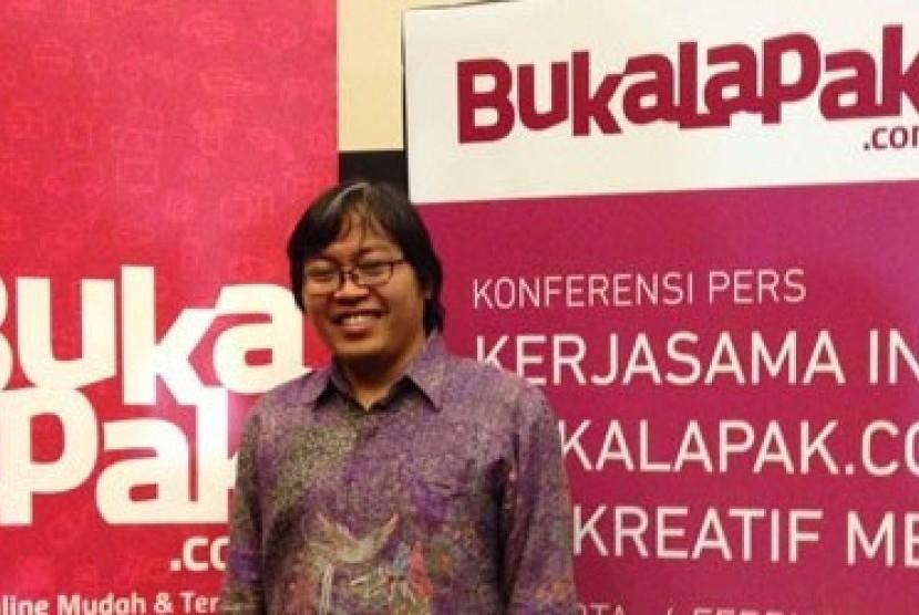 CEO dan Co-Founder Bukalapak.com Achmad Zaky