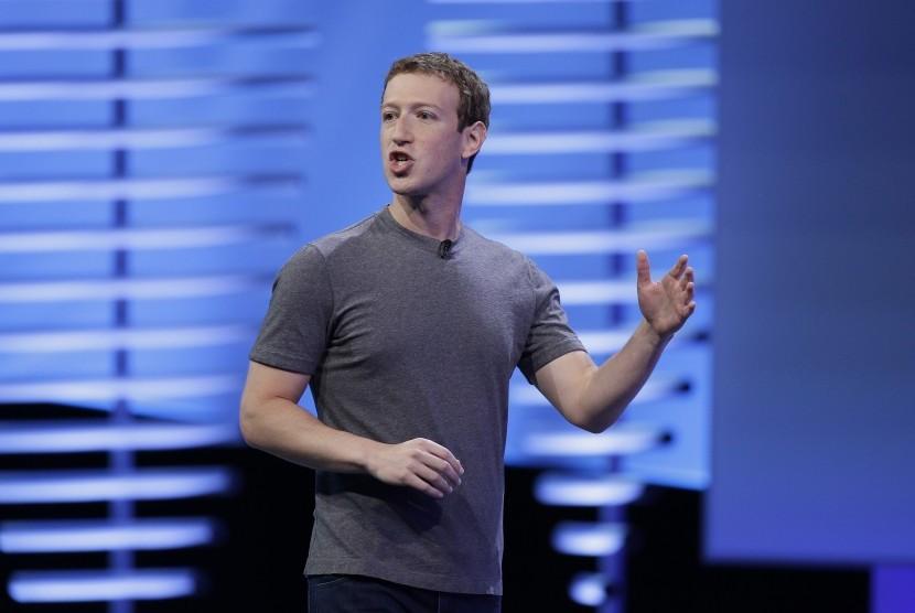 CEO Facebook, Mark Zuckeberg.
