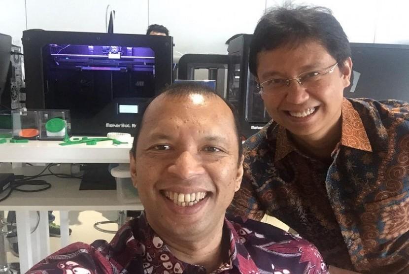 CEO GE Indonesia, Handry Satriago dan Dirut Mandiri Budi G Sadikin