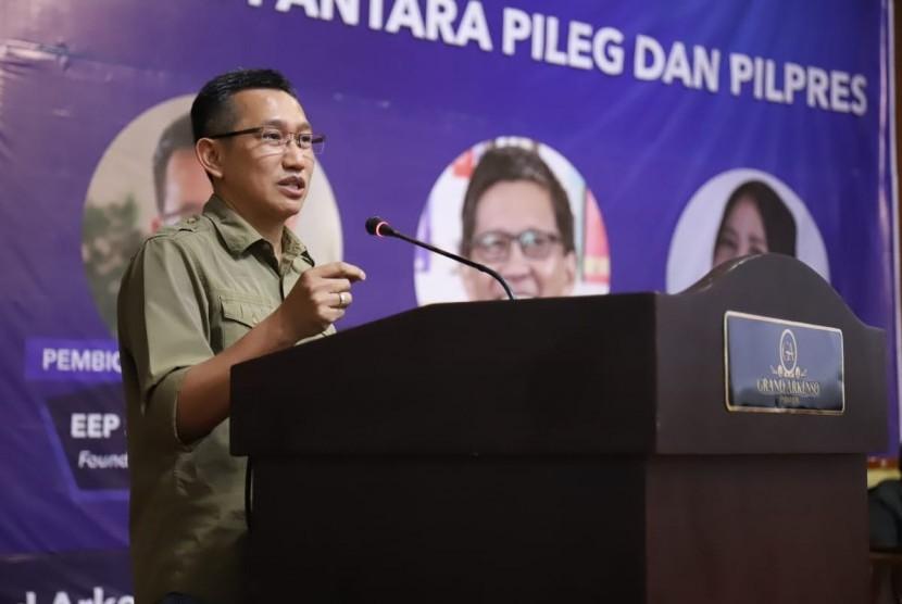 CEO Polmark Indonesia Eep Saefullah Fatah.