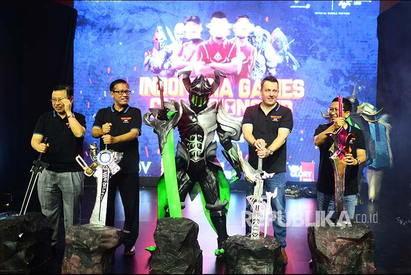 Kompetisi e-sport Indonesia (Ilustrasi)