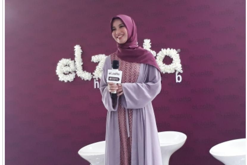 Chaca Frederica didaulat menjadi spokeperson Elzatta.