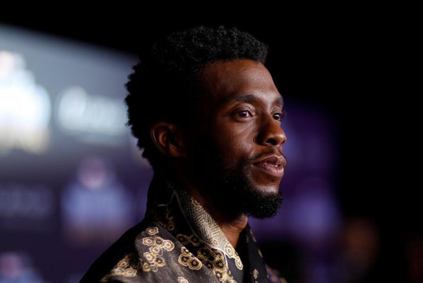 Aktor Chadwick Boseman Black Panther Meninggal Dunia Republika Online
