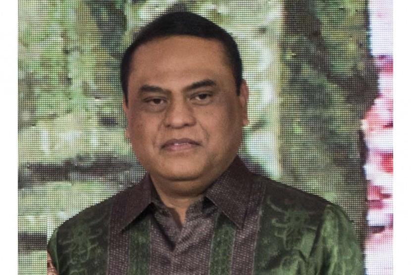 Chef de Mission Kontingen Indonesia untuk Asian Games 2018 Komjen Syafruddin.