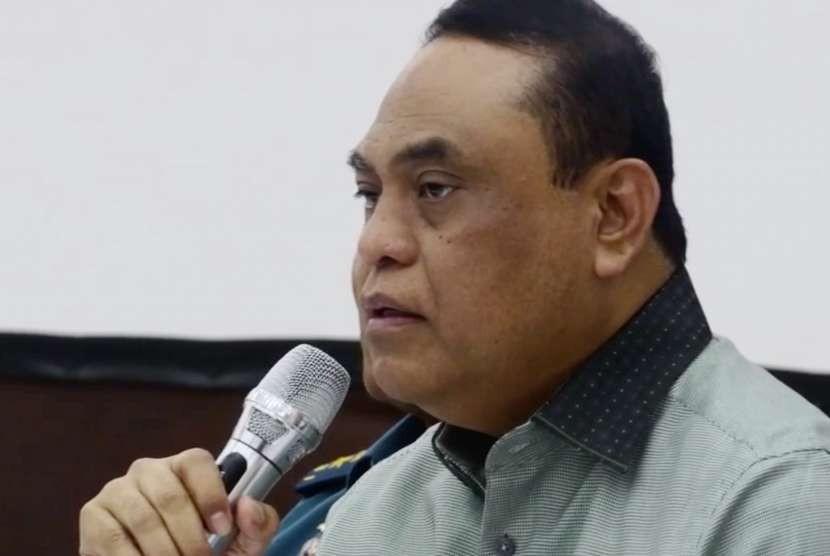 Chief de Mission atau Ketua Kontingen Indonesia, Komjen Polisi Syafruddin