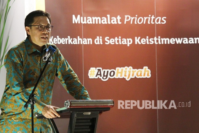 Chief Executive Officer (CEO) Bank Muamalat Achmad K Permana.