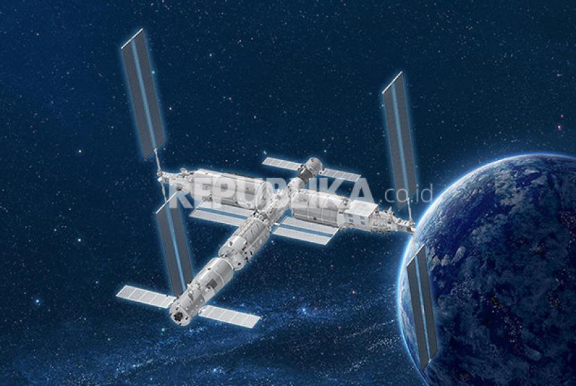 China membangun stasiun luar angkasa sendiri.