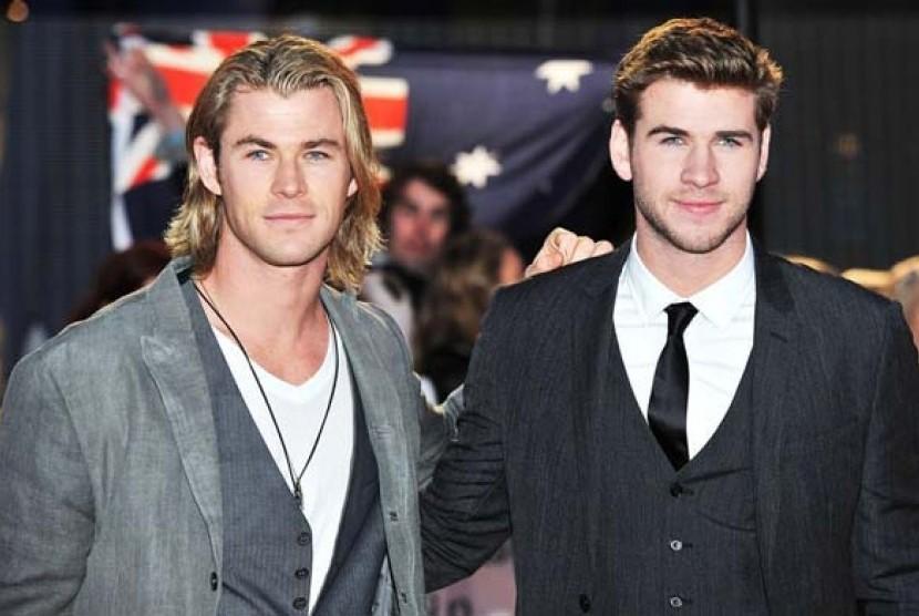 Chris dan Liam Hemsworth