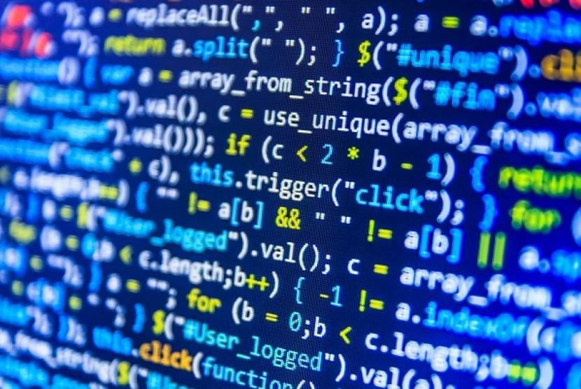Coding. Ilustrasi