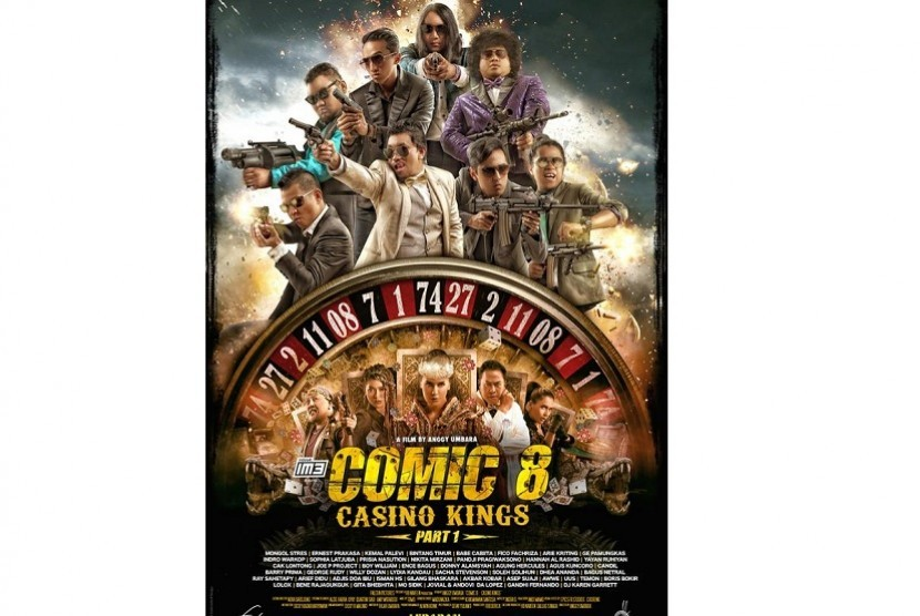 Comic 8 Casino Kings Part 2 Dijanjikan Lebih Seru Dan Lucu Republika Online