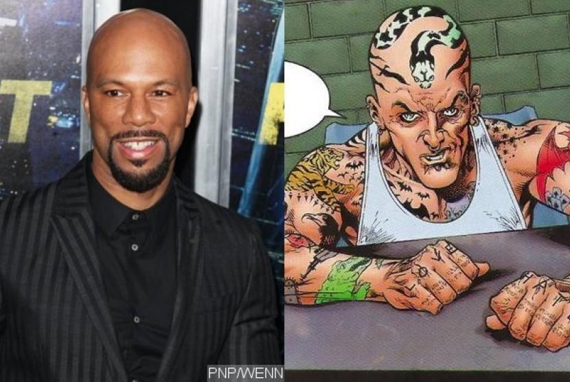 Common perankan karakter The Tattoed Man di Suicide Squad