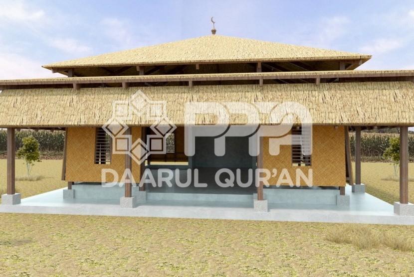 Contoh Kampung Quran di Sadaunta, Sigi, Sulteng.