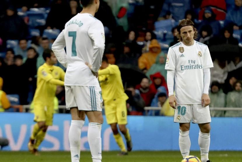 Cristiano Ronaldo dan Luka Modric.