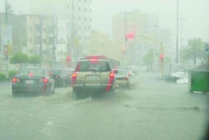Cuaca Dingin Ekstrem Landa Arab Saudi Republika Online