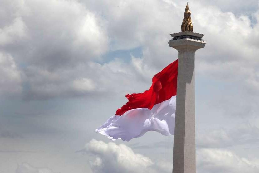 Cuaca Jakarta diprakirakan berawan. (ilustrasi)