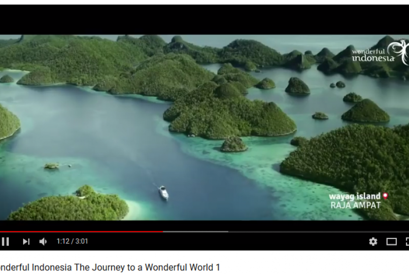 Cuplikan video Wonderful Indonesia The Journey to a Wonderful World I