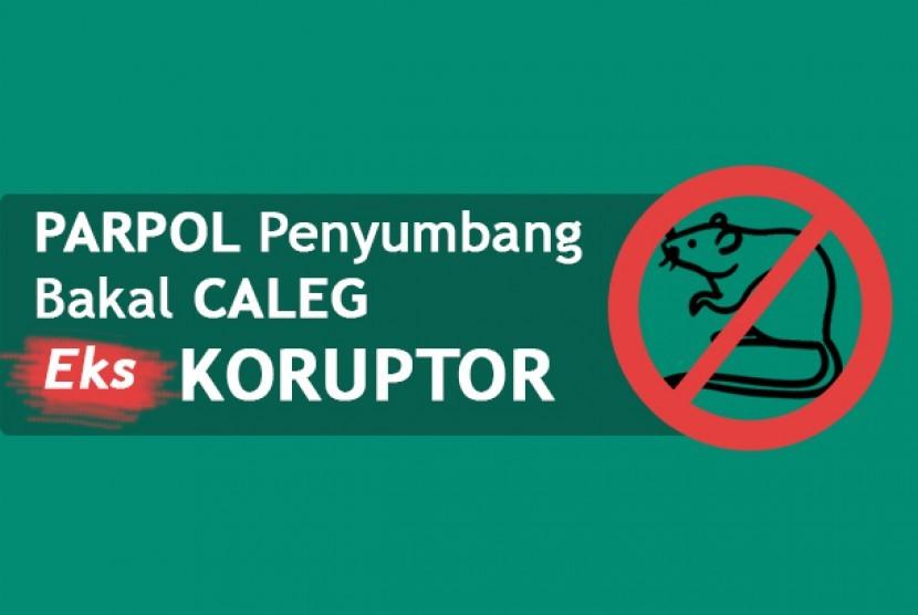 Daftar bakal caleg eks koruptor yang dikembalikan KPU ke parpol.