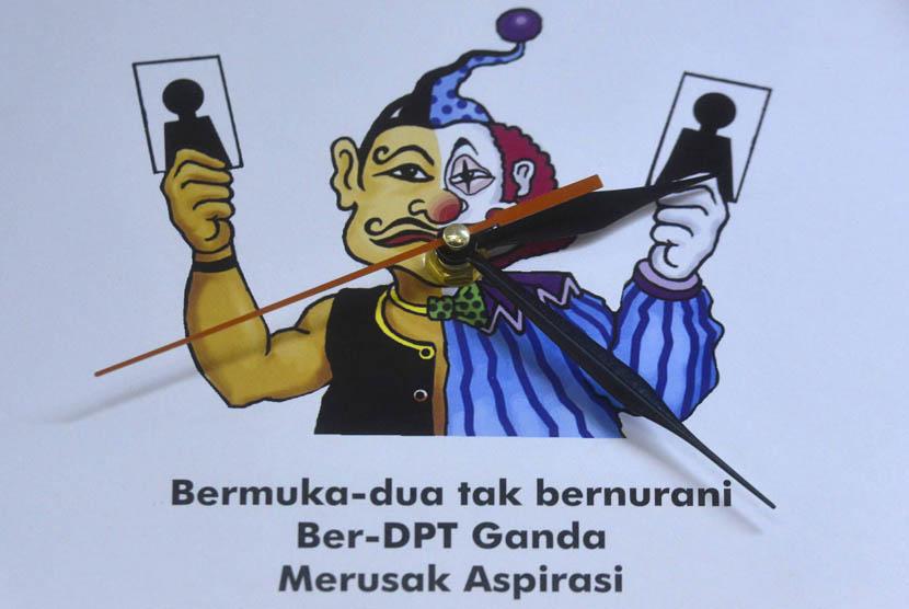Daftar Pemilih Tetap (DPT) bermasalah.    (ilustrasi)