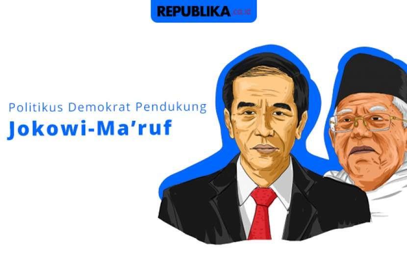 Daftar politikus Demokrat pendukung Jokowi-Ma'ruf