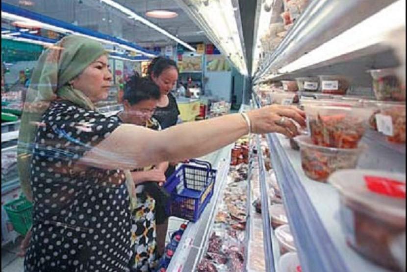 Daging halal di Cina.