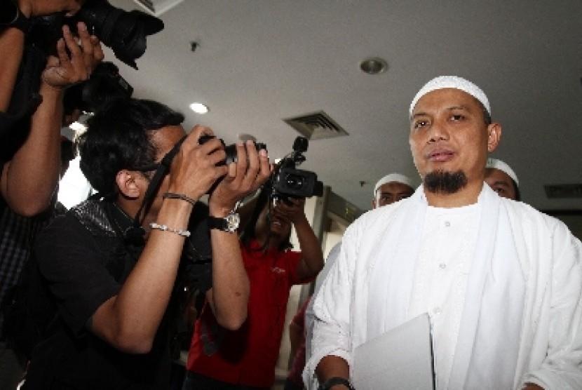 Dai Muhammad Arifin Ilham akan memberikan tausiah kepada pegawai KPK di Jakarta, Selasa (16/7).