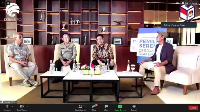 Dalam acara yang membahas tentang Pilkada Serentak 2020, KPU mengpresiasi peran KIM sebagai corong informasi seputar Pilkada.