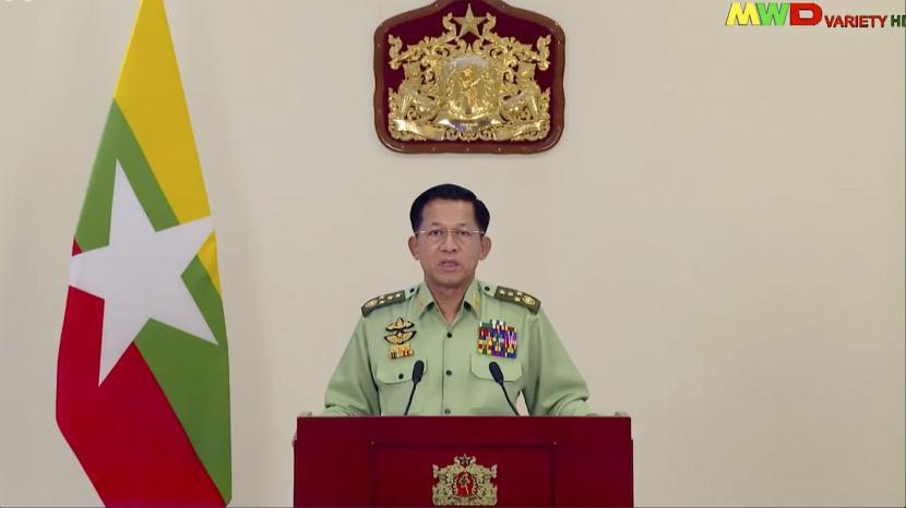 Pemimpin militer Myanmar Min Aung Hlaing