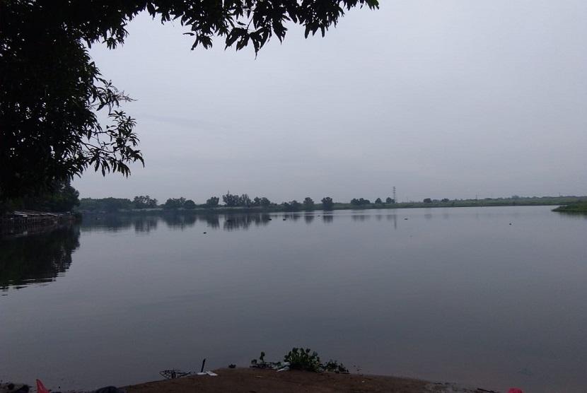 Danau alami yang disebut Situ Ciberem di Tambun, Kabupaten Bekasi