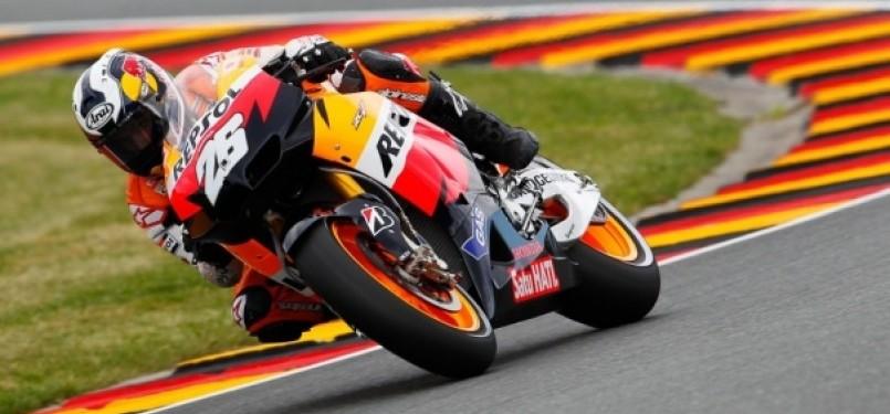 Dani Pedrosa Juarai MotoGP Jerman 2011(Repsol Honda Team) - Sirkuit Sachsenring, Jerman (Photo : www.motogp.com)