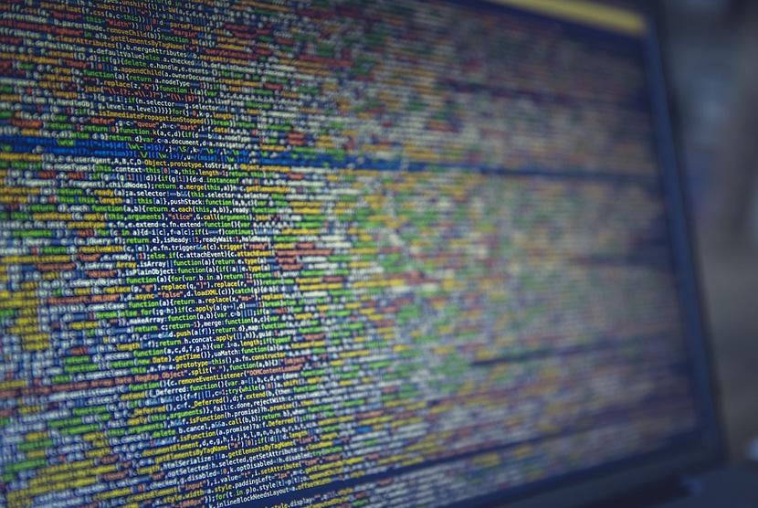 Data komputer. Ilustrasi