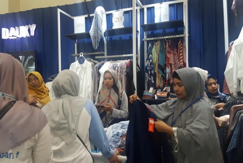 DAUKY hadir di Hijrahfest 2019 yang digelar di JCC, Jakarta, 24-26 Mei 2019.