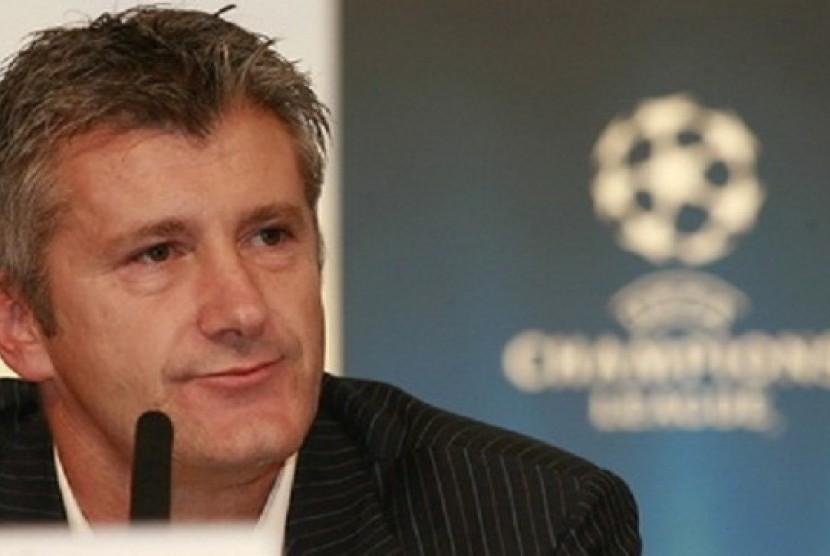 Legenda sepak bola Kroasia, Davor Suker.