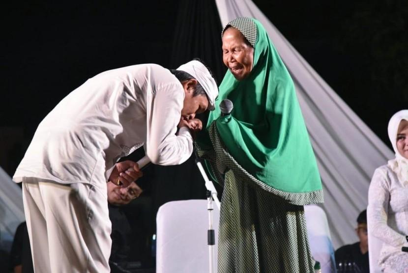 Dedi Mulyadi saat Safari Ramadhan di Bekasi