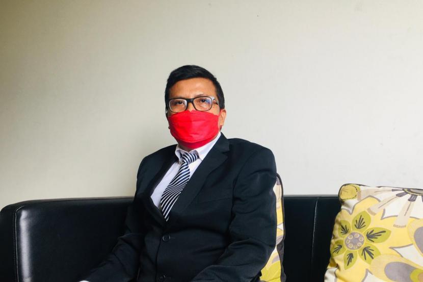 Dekan Fakultas Teknik dan Informatika (FTI) Universitas BSI, Dr Didi Rosiyadi.Lulusan UBSI prodi Rekayasa Perangkat Lunak berkewajiban sokong era Society 5.0