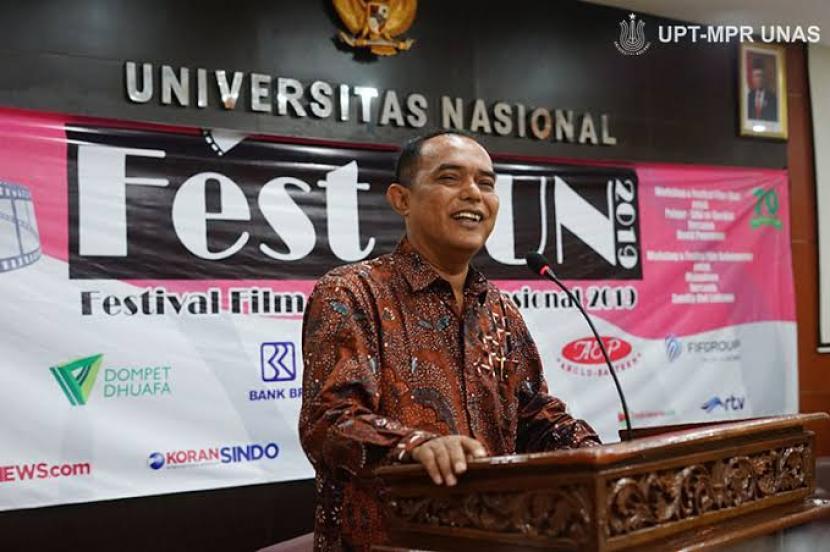 Dekan FISIP Unas Ajak Warga Sukseskan Pilkada 2020. Foto: Dekan Fakultas Ilmu Sosial Ilmu Politik Universitas Nasional (UNAS) Jakarta Dr. Zulkarnain, M.Si,  :